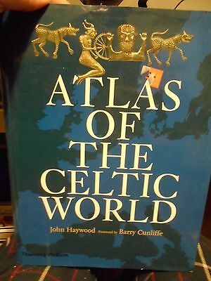 Atlas of the Celtic World by Haywood, Ireland, England, France, Germany & more