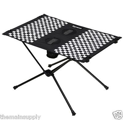 2016 Spring/Summer Supreme Helinox Chair One & Ultralight Table