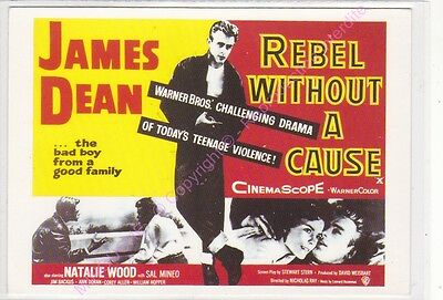 Cpm Affiche Cinema  Rebel Without A Cause James Dean