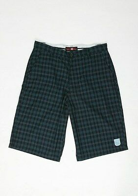 Grotto Men's Bite Check Shorts - Poly/Rayon  - End of Range - Must Clear