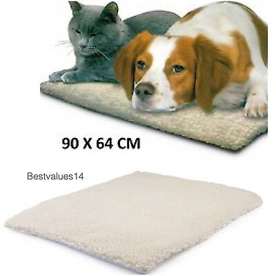 Self Heating Thermal Insulation Pet Dog Cat Bed Cushion Mat Washable Warm New