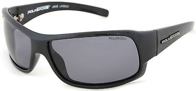 Polasports Layback Black Polarized Sunglasses BRAND NEW