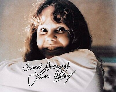Linda Blair In Person Signed 8x10 Photo - REAGAN from The Exorcist - RARE! H322