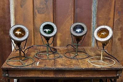 Vintage SOLID HEAVY BRASS Underwater Industrial Pond Fountain Light Steampunk