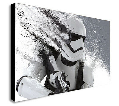 HD STORMTROOPER STAR WARS Canvas Wall Art Framed Print. Various Sizes