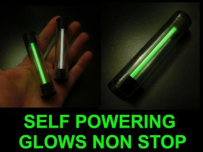 GIANT TRITIUM GLOW STICK, Glows Non Stop For Decades, Survival Light, Camping