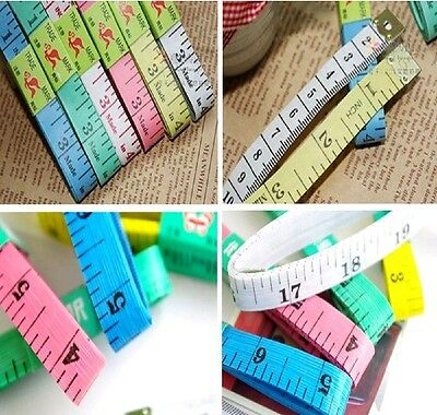 "5x Soft Ruler 1.5M 59"" Measure Tape Sewing Tailor Body Measuring Tape Flexible"