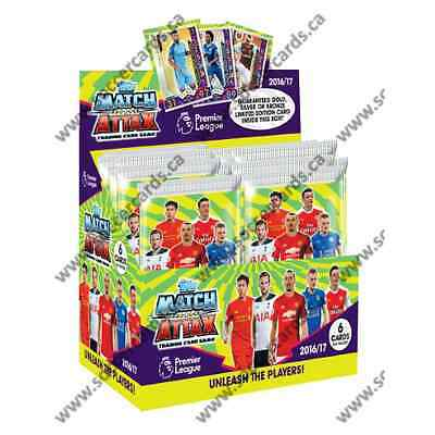 Topps Match Attax Premier League 2016/17 50 Pack Box (300 Cards)
