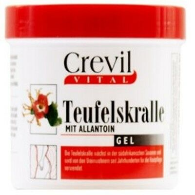 Crevil Gel with DEVIL'S CLAW AND ALLANTOIN  250 ML for all skin types