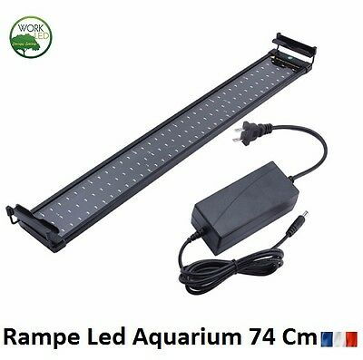 RAMPE LED ECLAIRAGE AQUARIUM 74 CM 2300 Lumens