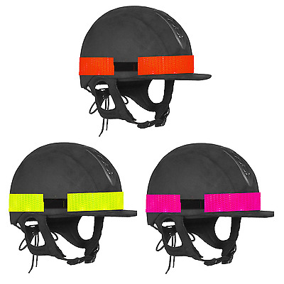 Hi Viz Reflective Hat Band Horse Rider Safety Visibility One Size Fits All