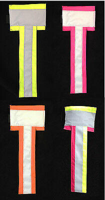 Hi Vis Hi Visibility Horse Tail Band One Size Fits All Various Colours