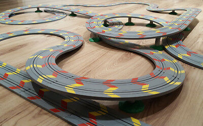 Micro Scalextric / My First Scalextric - Job Lot **HUGE TRACK LAYOUT**  #GY