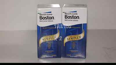Bausch & Lomb Boston Simplus Multi Action Contact Lens Solution 2 x 120ml