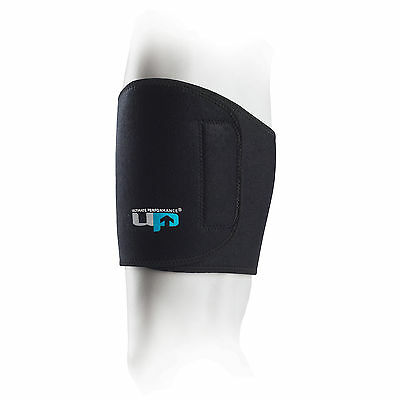 Ultimate Performance Neoprene Thigh Strap Black Compression Groin Support