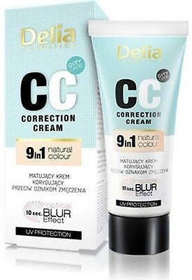 Delia CC Multifunctional Cream  Correction 9 in 1 natural color UV protection