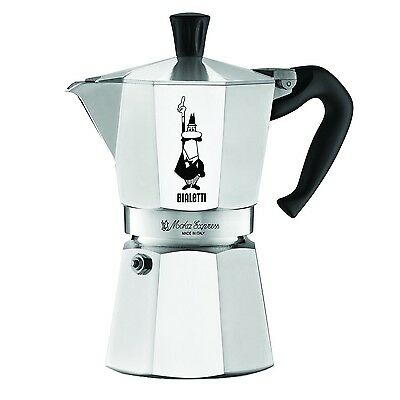 NEW Bialetti 6 Cup Stovetop Espresso Maker FREE SHIPPING FROM USA