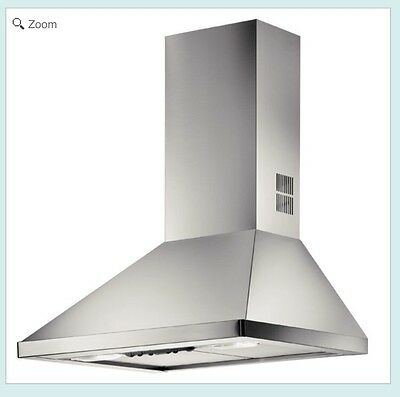 ELECTROLUX 60cm CHIMNEY COOKER HOOD STAINLESS STEEL