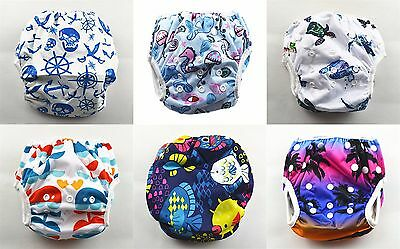 Newborn-Toddlers Swim Nappy Unisex Baby Cover Diaper Pants Nappies Swimmers