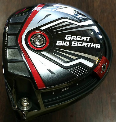 USED!! LH Great Big Bertha Driver 10.5 Adj A Flex - other flexes available