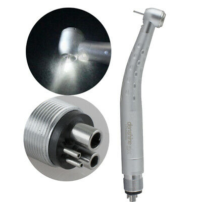 E-generator 4 hole Dental LED Light Fiber Optic Largehead High Speed Handpiece