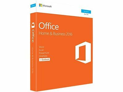 Microsoft Office Home and Business 2016 Retail Box P2
