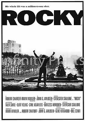 Rocky Movie Film Posters Various Posters and Sizes A3 A4
