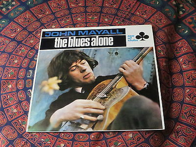 John Mayall the Blues Alone Lp Uk Decca Excellent condition