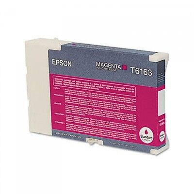Epson T6163 MAGENTA Ink Cartridge GENUINE NEW for B-300/310N/500DN/510DN Printer