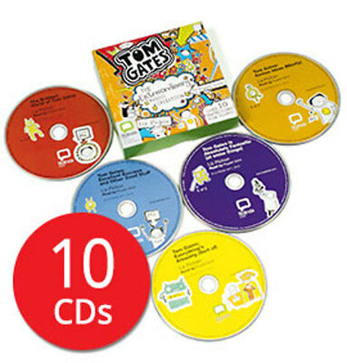 Tom Gates: The Extraordinary Audio Collection - 10 CDs