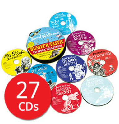 The World of David Walliams: Bumper-tastic Audio Book Collection - 27 CDs