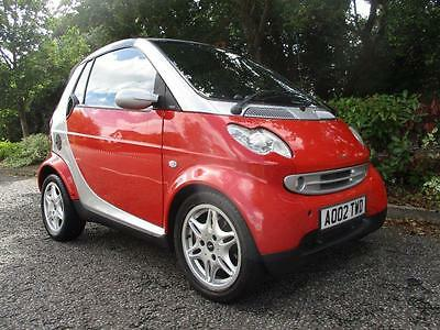2002 Smart Fortwo 0.7 Passion Cabriolet 2dr