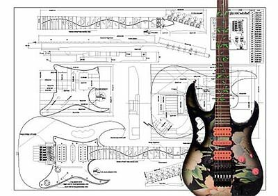 IBANEZ JEM® FULL scale Electric Guitar Plan - $20.29 | PicClick on ibanez sz wiring diagram, ibanez montage wiring diagram, ibanez js wiring diagram, ibanez pickup wiring diagram, ibanez artcore wiring diagram, ibanez jem horn, ibanez blazer wiring diagram, ibanez gax30 wiring diagram, ibanez dimarzio diagram, ibanez rg550 wiring diagram, ibanez iceman wiring diagram, ibanez 7 string wiring diagram, ibanez prestige wiring diagram, ibanez artist wiring diagram, ibanez jem dimensions, ibanez jem manual, ibanez k7 wiring diagram, ibanez s series wiring diagram,