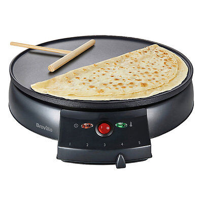 Breville Crepe Maker VTP130 - Create Sweet or Savoury Crêpes in Minutes