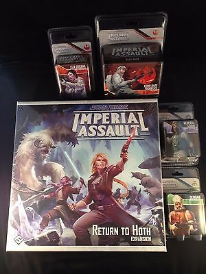 Star Wars Imperial Assault - Wave 5 & Return To Hoth Expansion - Free Shipping