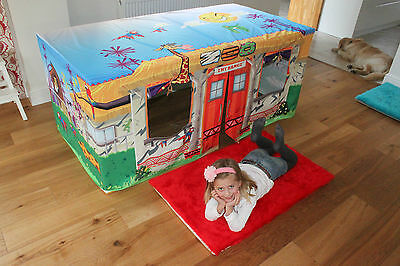 Animal Zoo 5ft Table Den Playhouse Kids Play Tent - Your child will love this!
