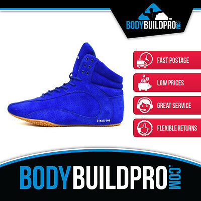 Ryderwear Raptors D-Maks Raw Blue * Bodybuilding Shoes * Hightop * Gym Training