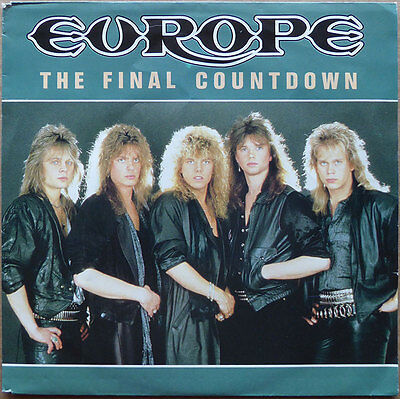 Europe - The Final Countdown - Holland 1986 - VG+(+)