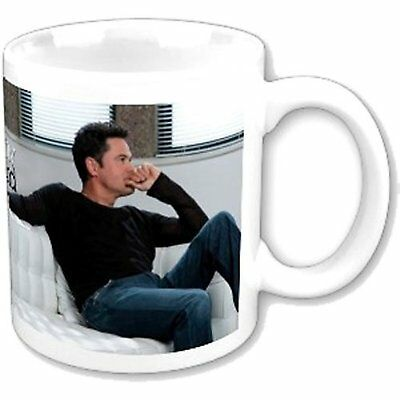 Donny Osmond On Couch Image White Coffee Mug Cup Boxed Official Fan Gift Idea