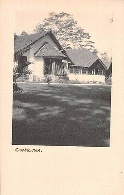 CEYLON - BOGAWANTALAWA, Chapelton,  Tea Plantation House - Real Photo