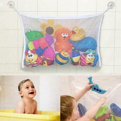 Bath Tub Toy Hanging Mesh Storage Bag Organizer Suction Bathroom For Baby Kid LH