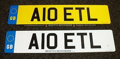 Personalised Number Plate......  A10 ETL  .....Cherished Numbers