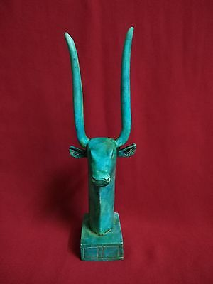 Ancient Egyptian Statue of god Hathor ( between the second century and first BC)