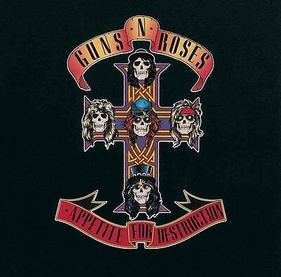 Guns N Roses - Appetite For Destruction Vinyl Record Album NEW!
