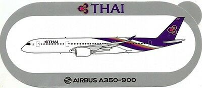 Airbus A350-900 Thai Airways Sticker ~Limited Edition Only 100 Issued~