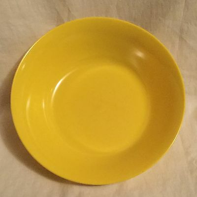 Vintage Texas Ware Bright Yellow Melamine Serving Bowl #A-17