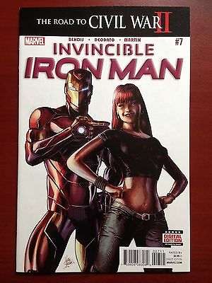 Invincible Iron Man #7 ~ Nm (9.4) Or Better! ~ 1St Appearance Of Riri Williams!