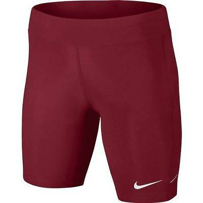 New Nike Women's Filament Athletic Dri Fit Compression Short Pocket 579976 Sz M
