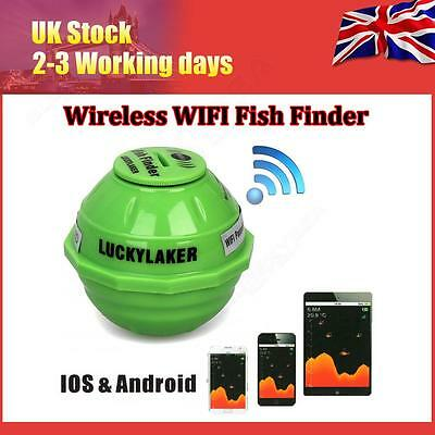 Sonar Wireless WIFI Fish Finder Underwater Motion Detection For iPhone Android