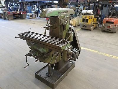Cincinnati No. 1 Horizontal Milling Machine (See Description)